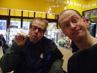 met Ben Sombogaart in Boston