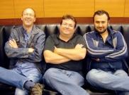 with Roel Reine and Radu Ion